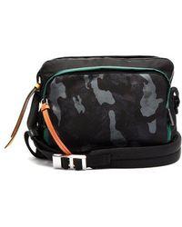 3e7b0ad6962520 ... czech prada camouflage print nylon shoulder bag mens multi lyst ef068  56ac0