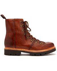 Grenson - Brady Leather Boots - Lyst