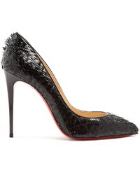 Christian Louboutin | Pigalle Follies 100mm Suede Pumps | Lyst