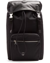 Dunhill - Guardsman Canvas And Leather Backpack - Lyst