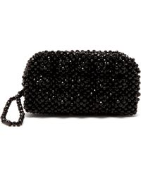 d0e9fadc8aba Shrimps - Molly Faux Pearl Embellished Clutch Bag - Lyst