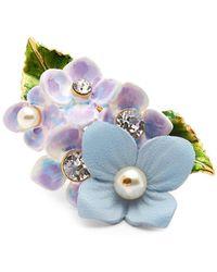 Dolce & Gabbana - Hydrangea Embellished Ring - Lyst