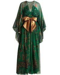 Zandra Rhodes - Summer Collection The 1973 Field Of Lilies Gown - Lyst