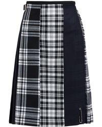Le Kilt - Menzie 65cm Tartan Wool Kilt - Lyst