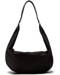 The Row - Sling Leather-trimmed Nylon Cross-body Bag - Lyst
