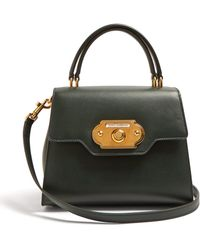 ed30f8396c Dolce   Gabbana - Welcome Leather Bag - Lyst
