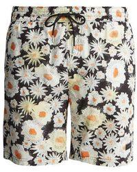Burberry - Daisy-print Swim Shorts - Lyst