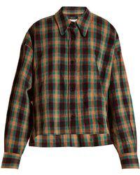 Isabel Marant - Macao Plaid Cotton Shirt - Lyst