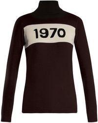 Bella Freud - 1970 Wool Roll Neck Sweater - Lyst