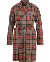 Fear Of God - Checked Wool Robe - Lyst