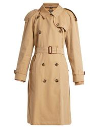 Burberry - Westminster Double-breasted Gabardine Trench Coat - Lyst