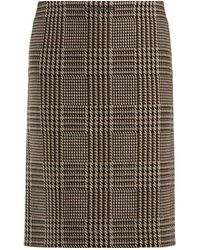 Balenciaga - Tweed Pencil Skirt - Lyst