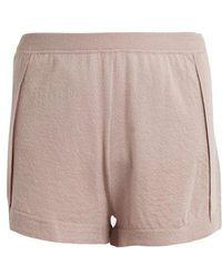 Le Kasha - Bombay Mid-rise Cashmere Shorts - Lyst