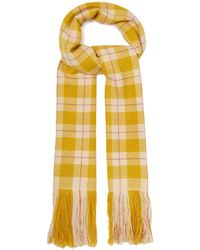 Isabel Marant - Carlyna Checked Cashmere Scarf - Lyst