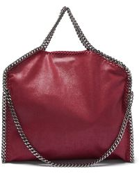 c0289c171a Stella McCartney - Falabella Faux-leather Tote Bag - Lyst