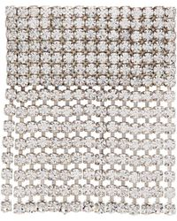 Alessandra Rich - Crystal-embellished Fringe Brooch - Lyst