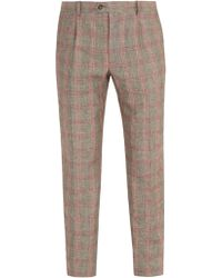 Éditions MR - Francois Checked Trousers - Lyst