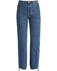 Vetements - X Levi's Reworked Straight Leg Jeans - Lyst