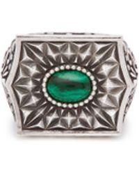 Emanuele Bicocchi - Quartz Sovereign Ring - Lyst