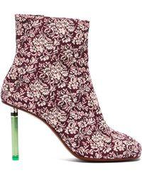 Vetements - Split-toe Lighter Ankle Boots - Lyst