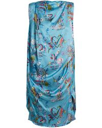 Vivienne Westwood Anglomania - Fatima Boat Draped Dress - Lyst