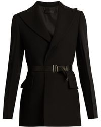 CALVIN KLEIN 205W39NYC - Jabar Crepe Tuxedo Jacket - Lyst