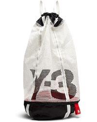 Y-3 - Icon Drawstring Mesh Backpack - Lyst