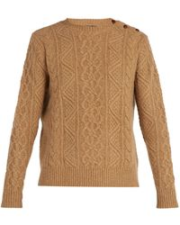 Polo Ralph Lauren - Cable-knit Merino Wool Sweater - Lyst