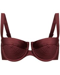 Zimmermann - Juniper Balconette Bikini Top - Lyst