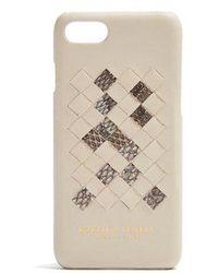 Bottega Veneta - Intrecciato Leather Iphone® 7 Case - Lyst