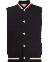 Moncler Gamme Bleu - Quilted Down Wool Gilet - Lyst