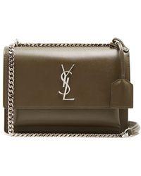 Saint Laurent - Sunset Medium Leather Cross-body Bag - Lyst