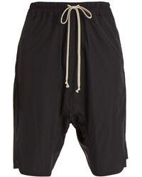 Rick Owens - Dropped-crotch Shell Shorts - Lyst