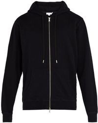 Sunspel - Zip Through Hooded Sweatshirt - Lyst