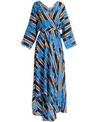 Diane von Furstenberg - Eloise Silk-jersey Midi Dress - Lyst