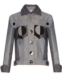 Thomas Tait - Patchwork Denim Jacket - Lyst