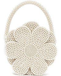 Shrimps - Buttercup Faux Pearl Embellished Bag - Lyst fe323468f941f