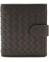 Bottega Veneta | Intrecciato Bi-fold Leather Wallet | Lyst