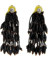 Etro - Bead-embellished Tassel Earrings - Lyst
