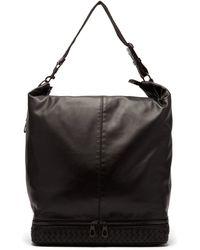 Bottega Veneta - Mi-ny Intrecciato-weave Leather Travel Bag - Lyst