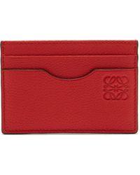 Loewe - Anagram Leather Cardholder - Lyst
