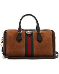 719fdd8b874 Lyst - Gucci Soft Signature Top Handle Bag in Black