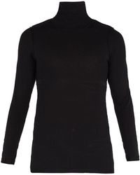 Vetements - Inside Out Roll Neck Top - Lyst