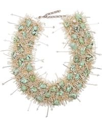 Toga - Bead And Turquoise-embellished Necklace - Lyst