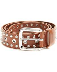 Isabel Marant - Rica Studded Leather Belt - Lyst