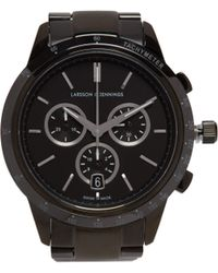 Larsson & Jennings - Rally Stainless Steel Watch - Lyst
