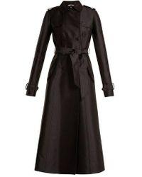 Gabriela Hearst - Cassatt Silk And Wool-blend Trench Coat - Lyst