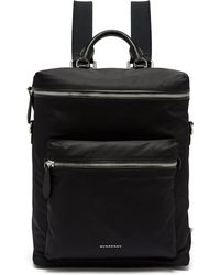 Burberry - London Nylon Backpack - Lyst