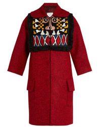 Stella Jean - Pregare Embroidered Coat - Lyst
