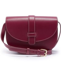 A.P.C. - Eloise Leather Saddle Bag - Lyst